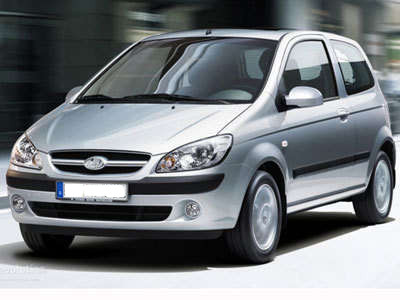 Hyundai Getz (or similar)