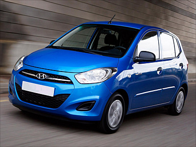 Economy (Hyundai i10 or Toyota Aygo or similar)